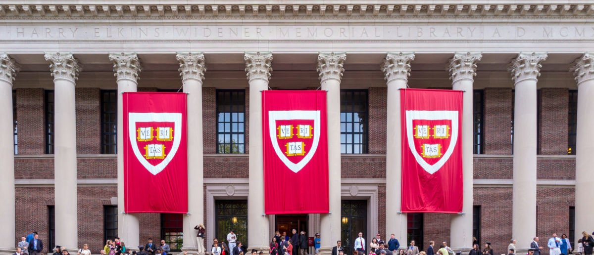 The president of Harvard University remains confident that the school will win a trial. SHUTTERSTOCK/f11photo