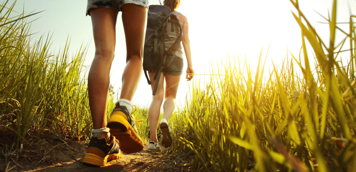 A new climate lawsuit alleges global warming is making hiking less pleasant. Shutterstock