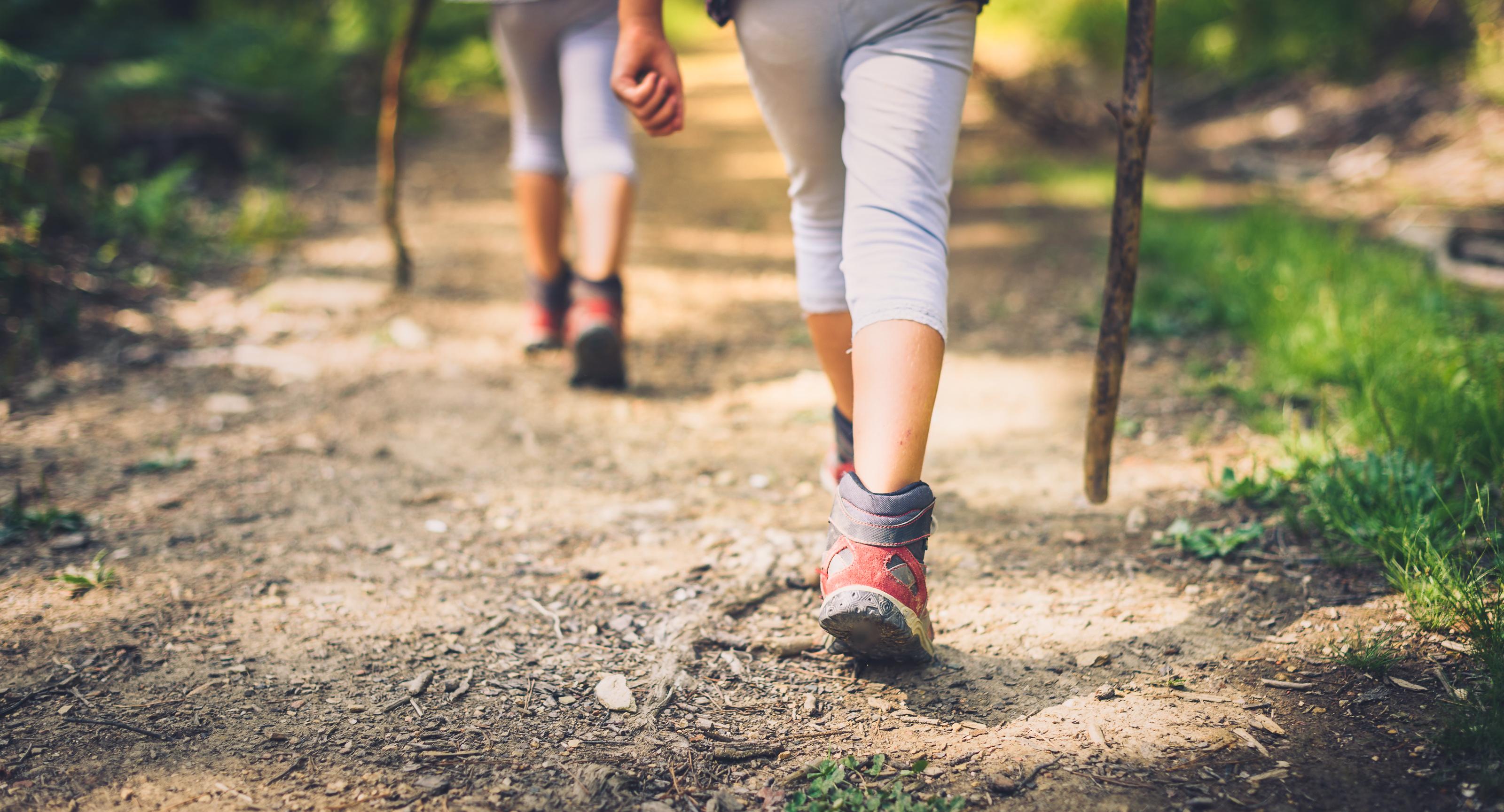 Hiking Walk. Shutterstock