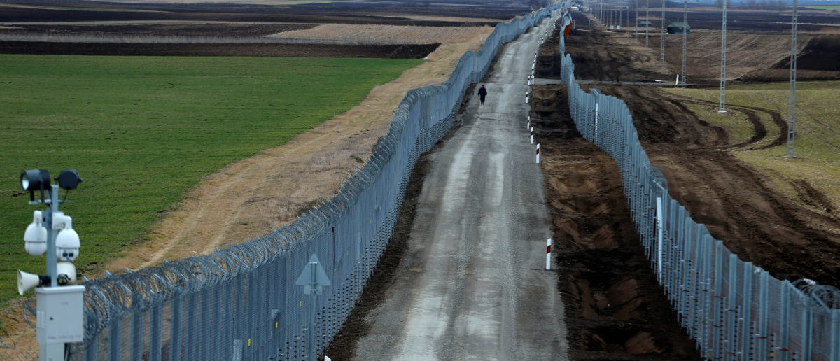 Image result for Hungary Builds Border Fence, Illegal Immigration Drops By 99%