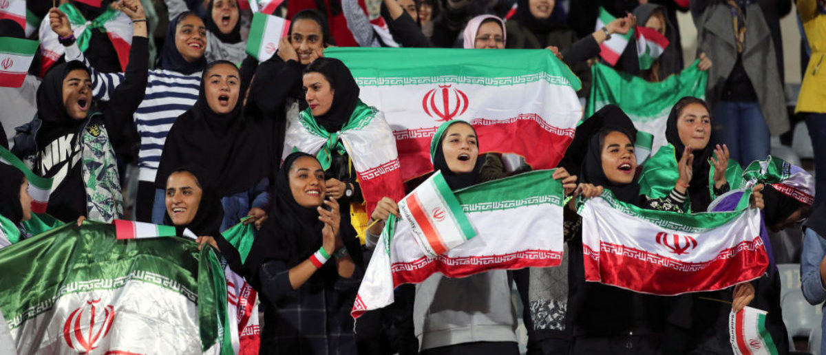 Iran Let Women Enter A Soccer Stadium For The First Time In Decades This Week