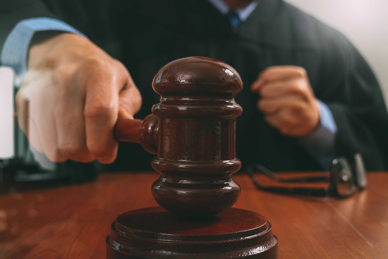 Judge and Gavel. Shutterstock