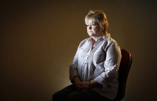 Judy Shepard, mother of 21-year-old murder victim Matthew Shepard, poses for a portrait in the Brooklyn borough of New York February 17, 2013. Matthew Shepard, who was murdered in 1998, is one of the most highly publicized cases of a hate-crime against a gay person and has spawned anti-hate legislation, books, plays and movies. REUTERS/Carlo Allegri