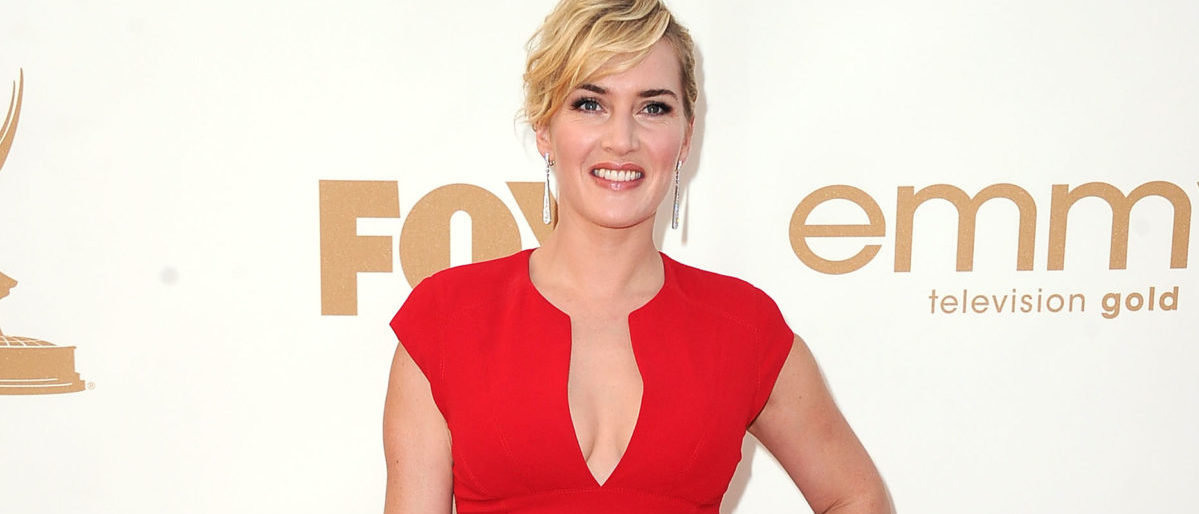 LOS ANGELES, CA - SEPTEMBER 18: Actress Kate Winslet arrives at the 63rd Annual Primetime Emmy Awards held at Nokia Theatre L.A. LIVE on September 18, 2011 in Los Angeles, California. (Photo by Frazer Harrison/Getty Images)