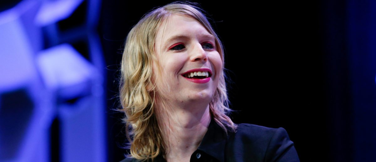 Chelsea Manning speaks at the South by Southwest festival in Austin, Texas, U.S., March 13, 2018. REUTERS/Suzanne Cordeiro