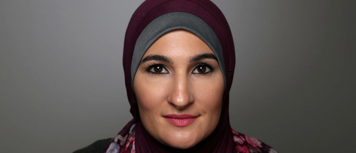 """Women's March National Co-Chair Linda Sarsour attacked """"white women"""" over Brett Kavanaughs confirmation to the Supreme Court REUTERS/Lucy Nicholson/File Photo"""