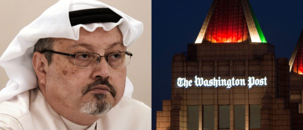 Jamal Khashoggi contributed to The Washington Post. MOHAMMED AL-SHAIKH/AFP/Getty Images and PAUL J. RICHARDS/AFP/Getty Images