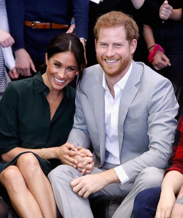 Meghan Markle Wears Diamond Tennis Bracelet From Prince