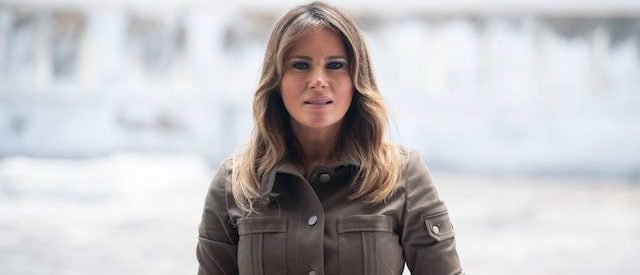 Melania Trump's Plane Forced To Turn Around After Billowing Smoke
