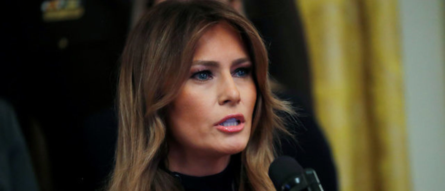 Melania Hits Back At 'Critics And The Media' Who 'Ridicule' Her For Speaking Out Against Cyberbullying