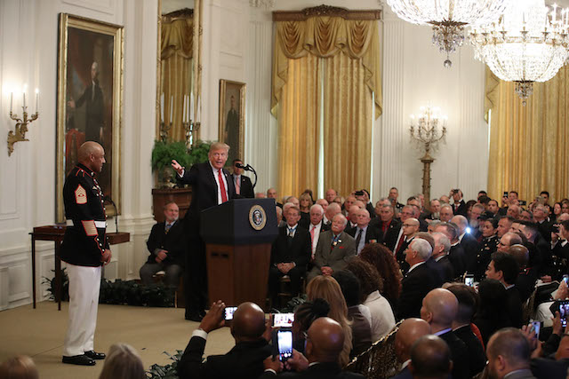 Gallantry In Vietnam on October 17, 2018 in Washington, DC. (Photo: Getty Images)
