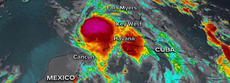 Hurricane Michael prepares to make landfall. (Photo: screenshot per ABC)