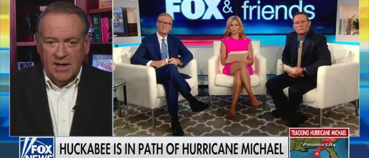 Mike Huckabee Says Hurricane Michael Is A Crisis But Will Bring Americans Closer Together