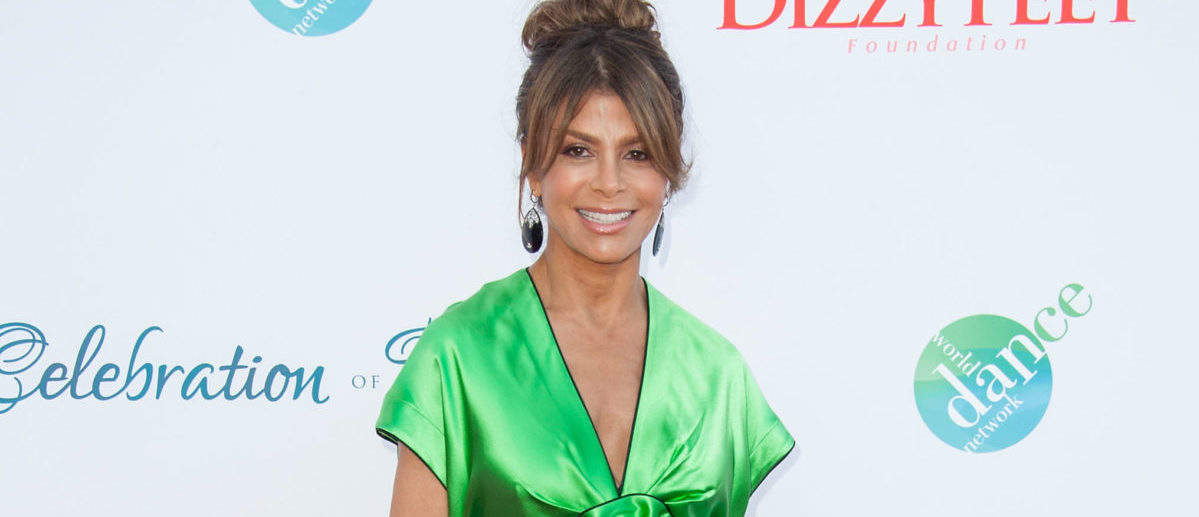 LOS ANGELES, CA - JULY 19: Choreographer Paula Abdul arrives at the 4th Annual Celebration Of Dance Gala Presented By The Dizzy Feet Foundation at Dorothy Chandler Pavilion on July 19, 2014 in Los Angeles, California. (Photo by Valerie Macon/Getty Images)