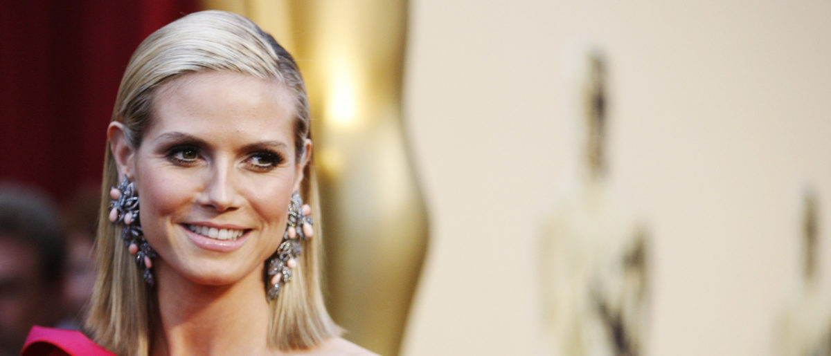 Model and actress Heidi Klum arrives at the 81st Academy Awards in Hollywood. REUTERS/Mario Anzuoni