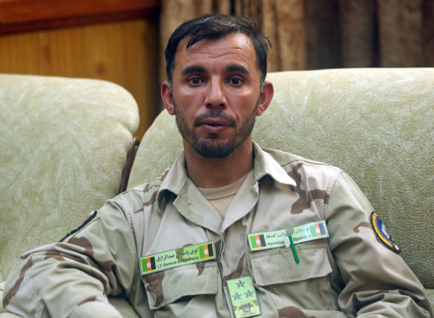 Gen. Abdul Razeq, who was killed in today's attack, is seen at his office in Kandahar province, Afghanistan August 4, 2016. Picture taken August 4, 2016. REUTERS/Stringer