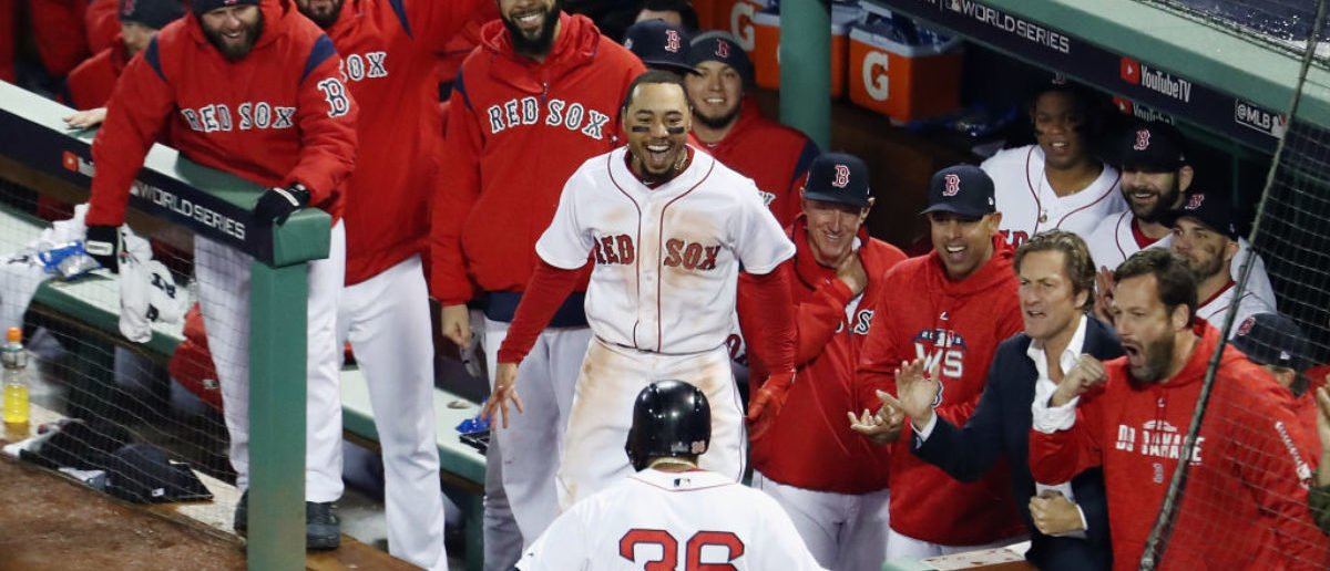 Red Sox Fans Pulled One Of The Most Disrespectful Moves In Sports History During World Series Game 1