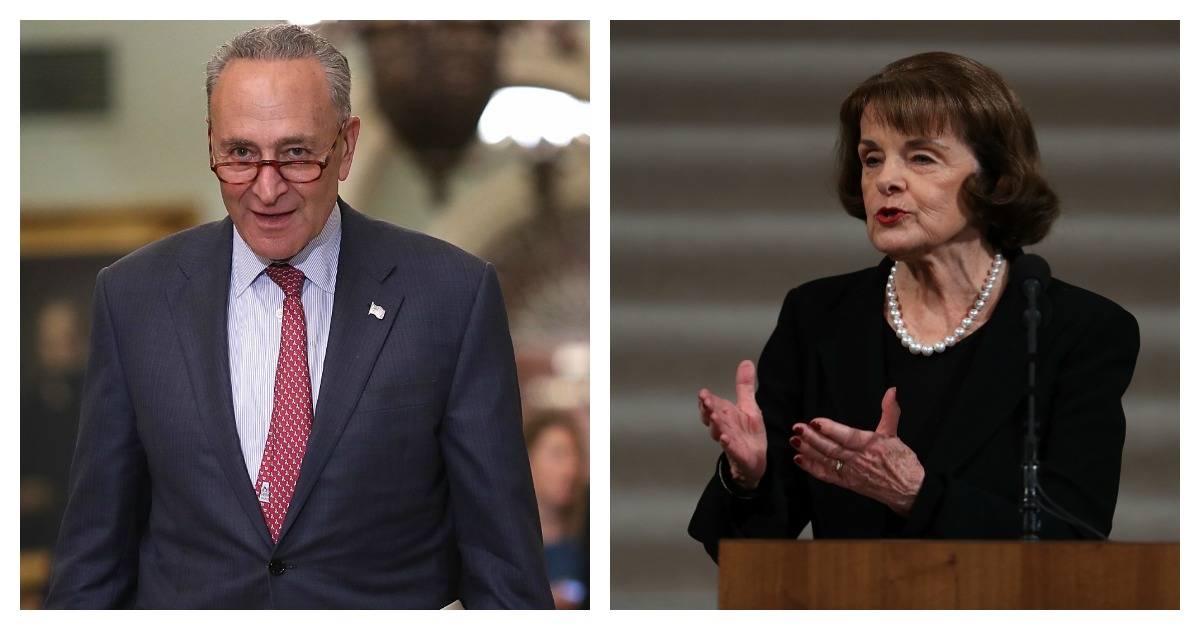 Feinstein And Schumer At Odds Over Whether To Release FBI Report
