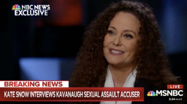 Julie Swetnick being interviewed by Kate Snow (MSNBC 10/1/2018)