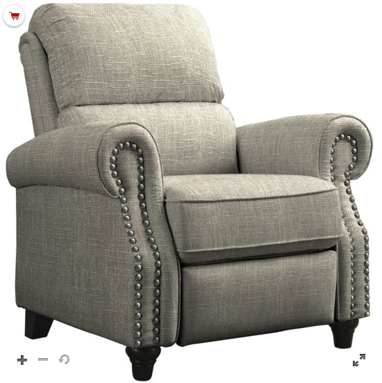 Normally $700, this recliner is 57 percent off with the code (Photo via JCPenney)