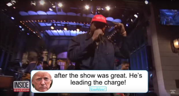 Behind the Scenes as 'SNL' Audience Stunned by Kanye West's Bizarre Rant, YouTube/ Inside Edition