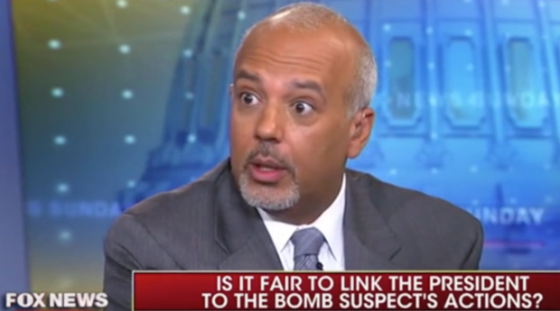 "Georgetown University's Mo Elleithee appears on ""Fox News Sunday,"" 10/28/18/Screenshot"