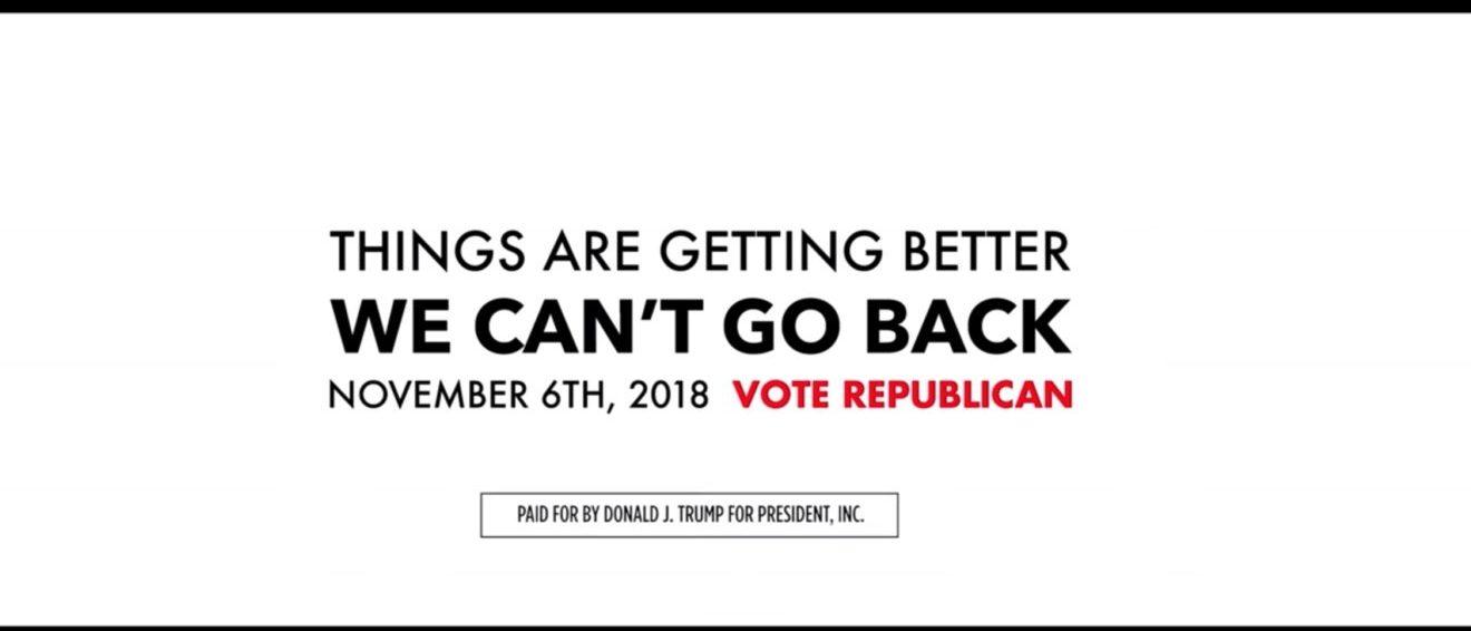 Donald Trump Campaign Midterm Ad