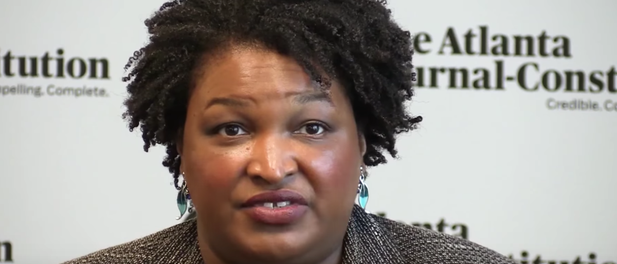 Screen Shot:Stacey Abrams:Youtube