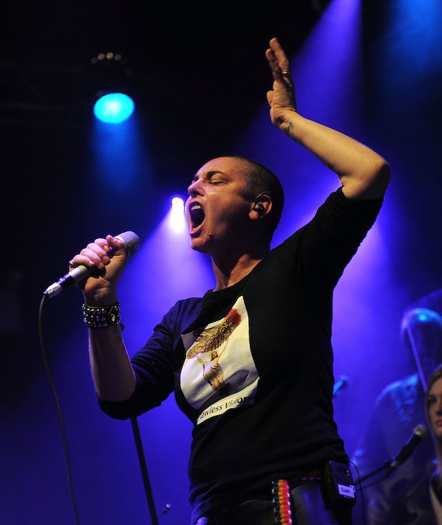 Sinead O'Connor at the Highline Ballroom on February 23, 2012 in New York City. (Photo: Getty Images)