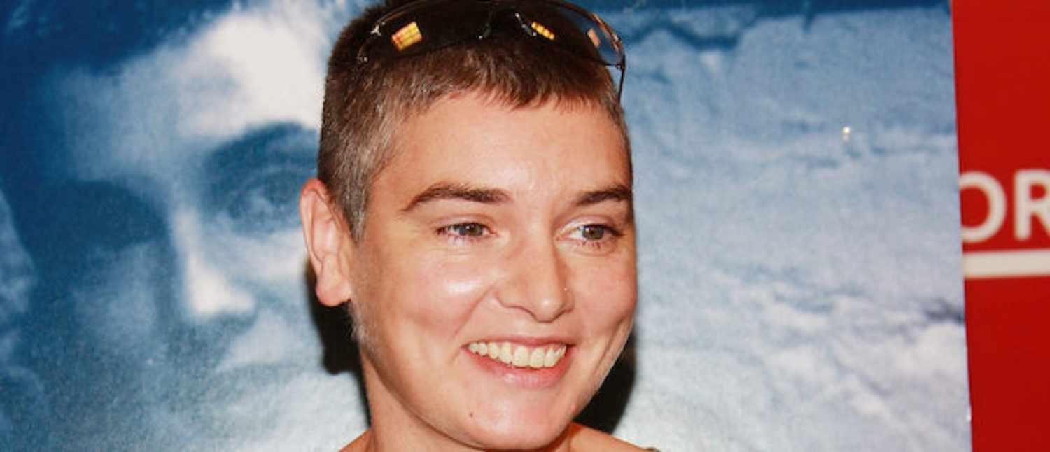 "Singer Sinead O'Connor makes an appearance at Borders to promote her new 2-CD release ""Theology"" on June 26, 2007 in New York City. (Photo by Evan Agostini/Getty Images)"