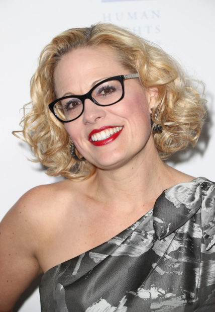 LOS ANGELES, CA - MARCH 10: Congresswoman Kyrsten Sinema attends The Human Rights Campaign 2018 Los Angeles Gala Dinner at JW Marriott Los Angeles at L.A. LIVE on March 10, 2018 in Los Angeles, California. (Frederick M. Brown/Getty Images)