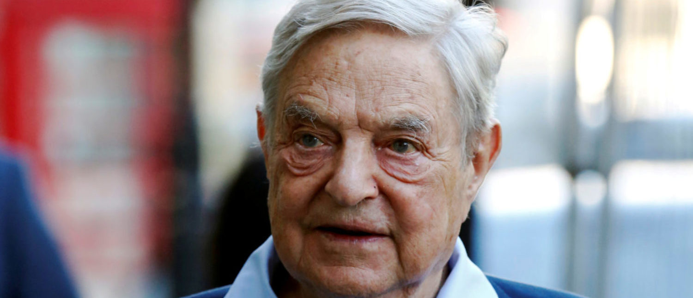 Left-wing billionaire George Soros REUTERS/Luke MacGregor