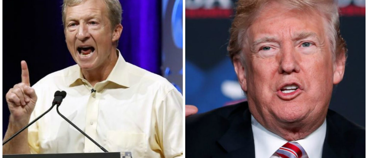 Steyer Is Targeting 12 Dem Incumbents Because They Haven't Backed Impeachment