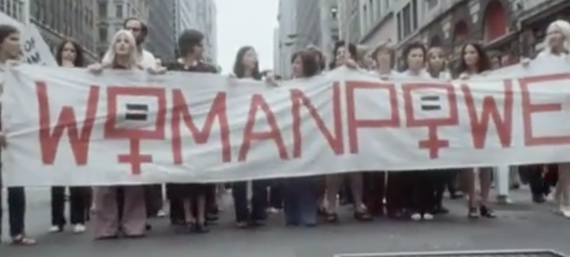 Women's Liberation March 1971 (Youtube/AP Archive)
