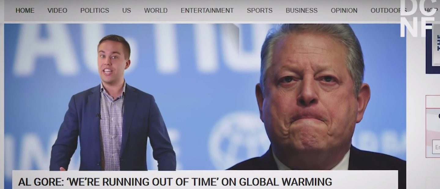 "Al Gore and the U.N. have given us a lot of ""last chances"" on climate change. (Screenshot/YouTube/TheDCNF)"