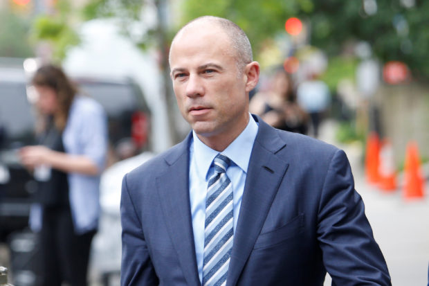 Michael Avenatti, the attorney of adult-film star Stephanie Clifford, known as Stormy Daniels, arrives at federal court in Manhattan, New York, U.S., May 30, 2018. REUTERS/Shannon Stapleton