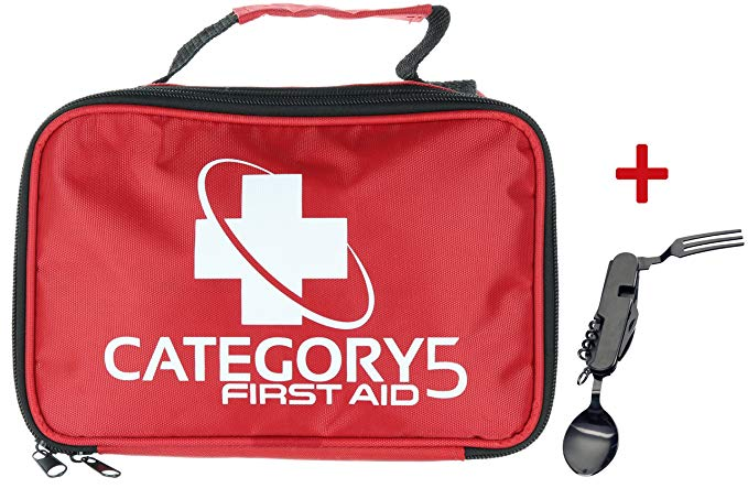 Normally $30, this first aid kit is 53 percent off today (Photo via Amazon)