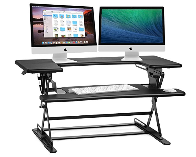 Normally $170, this Halter desk is 29 percent off today (Photo via Amazon)