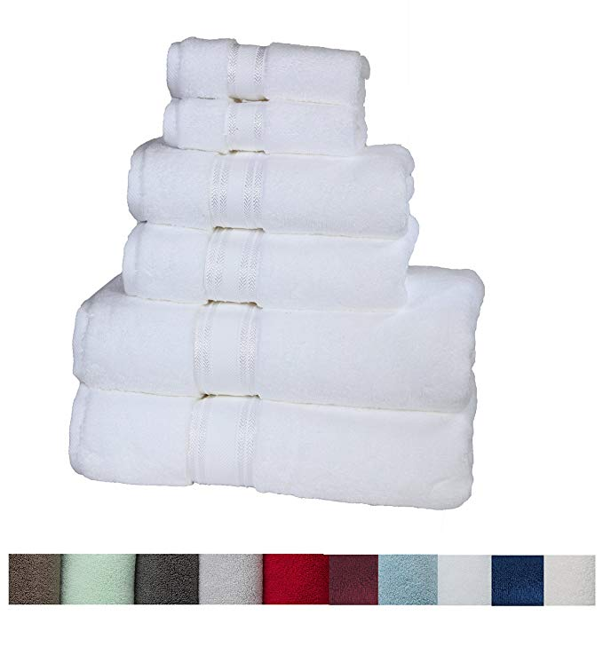 Normally $43, these #1 bestselling bath towel sets are 40 percent off today (Photo via Amazon)