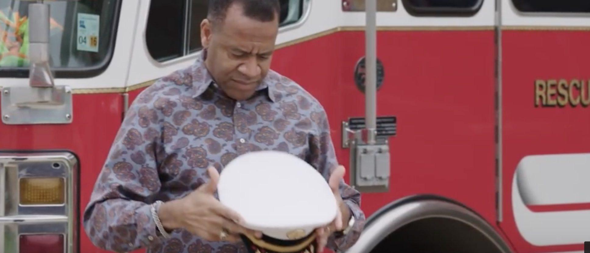 Former Atlanta fire chief Kelvin Cochran shares his story./Screenshot/YouTube