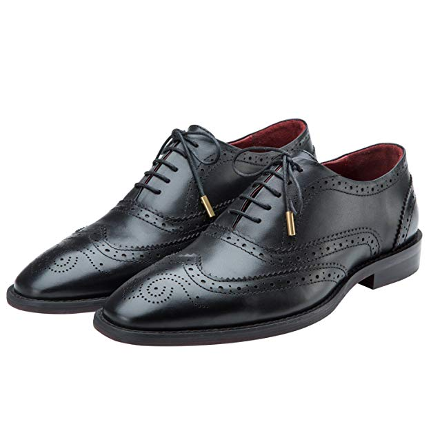 Normally $130, these wingtip Oxfords are 35 percent off today (Photo via Amazon)