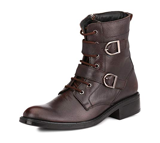 Normally $160, these leather boots are 61 percent off today (Photo via Amazon)