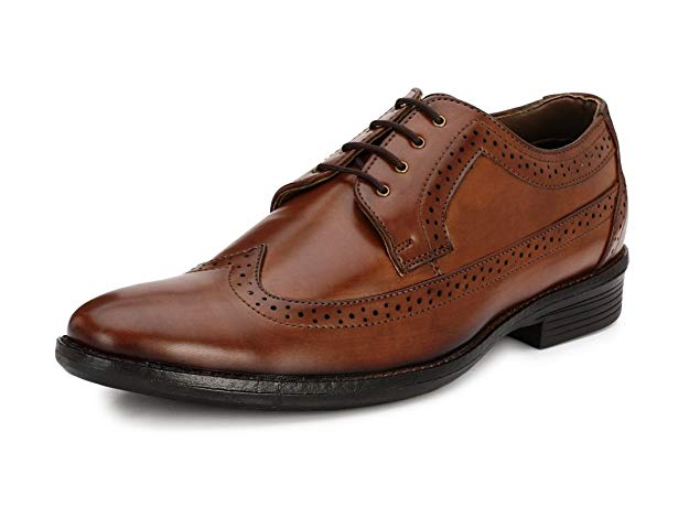 Normally $100, these leather shoes are 57 percent off today (Photo via Amazon)