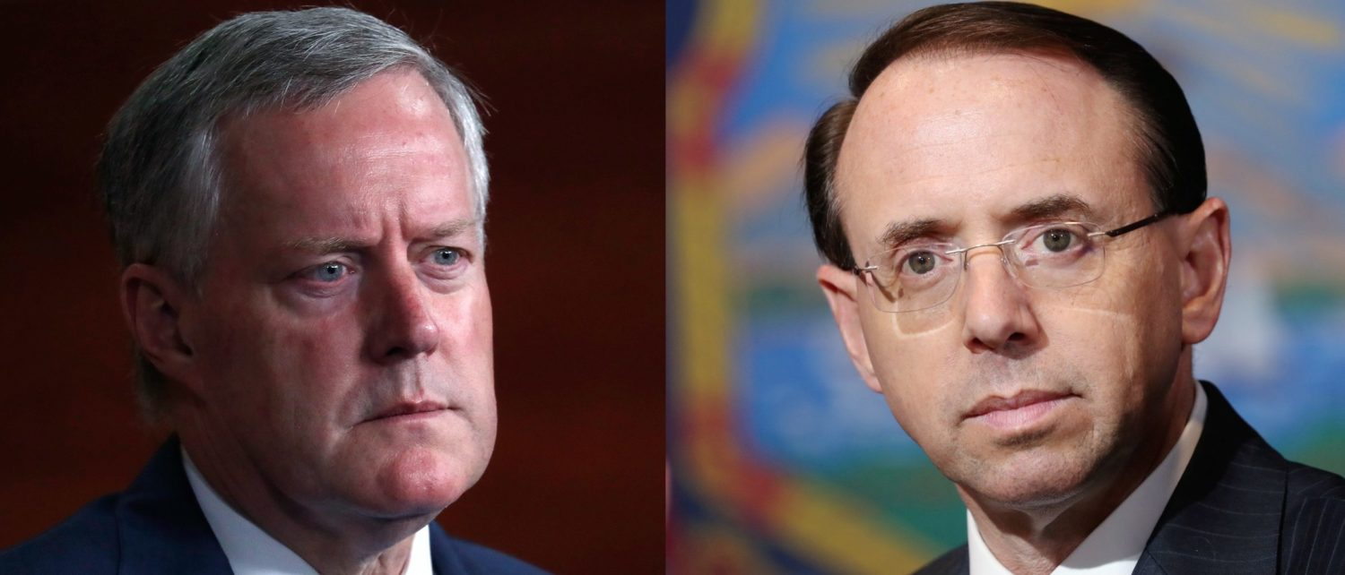 Image result for NC: Meadows calls on Rosenstein to resign 'immediately'