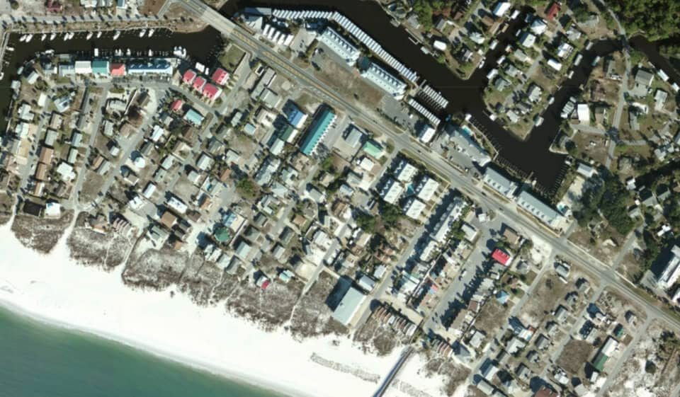 Mexico Beach, Florida, before Hurricane Michael. (Photo: National Oceanic and Atmospheric Administration)