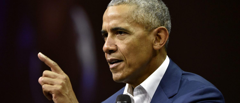 Former President of the United States, Barack Obama, attends the Nordic Business Forum in Helsinki, Finland September 27, 2018. Jussi Nukari/Lehtikuva/via REUTERS