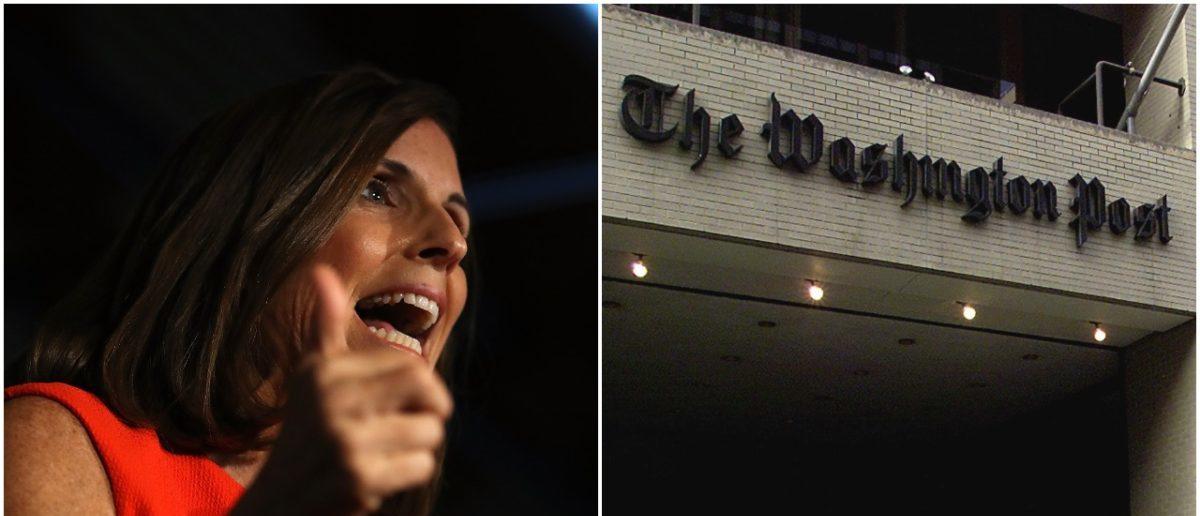 Left: Martha McSally, Right: Washington Post (Getty Images)