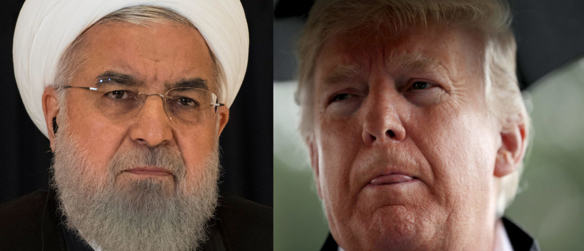 Iranian President Hassan Rouhani and American President Donald J. Trump (Left Photo: Jim Watson/AFP/Getty Images; Right Photo: Chip Somodevilla/Getty Images)