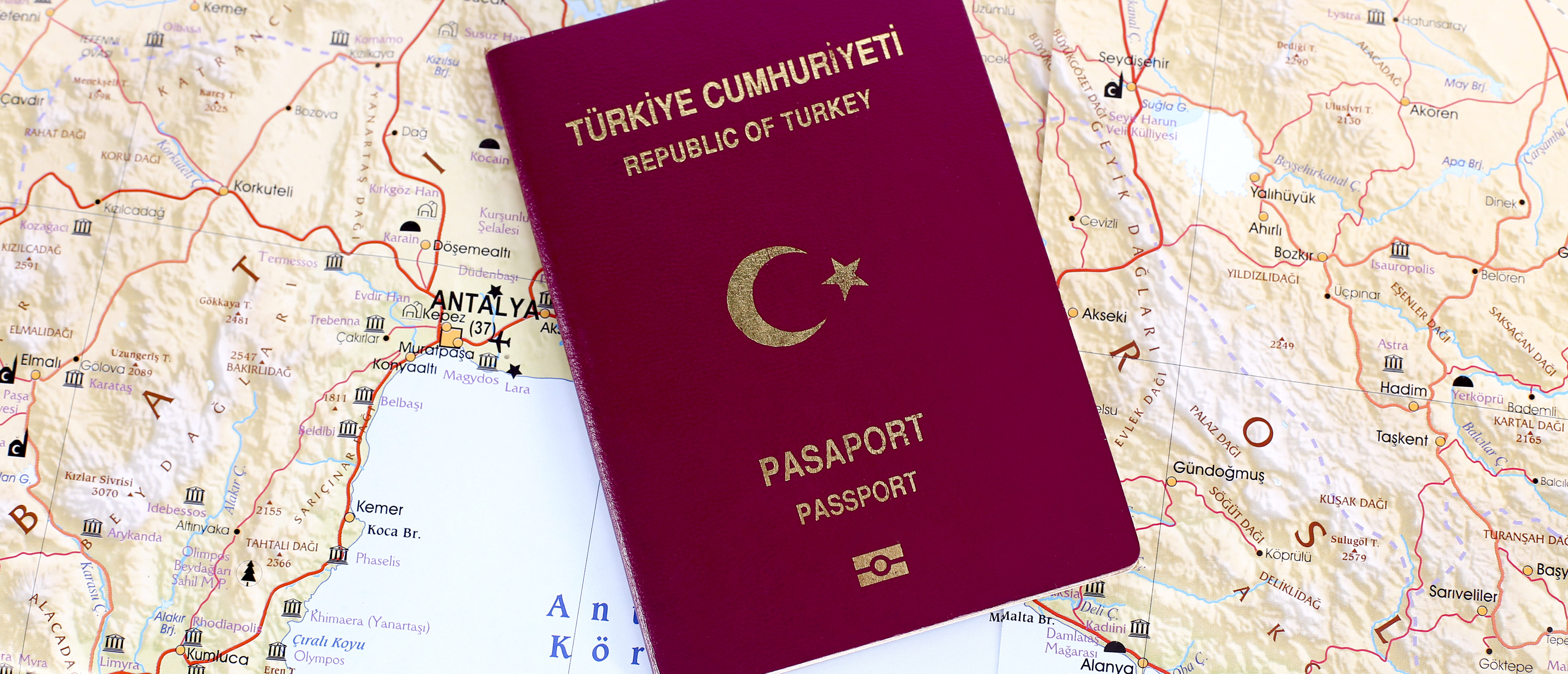 Turkish passport, Shutterstock