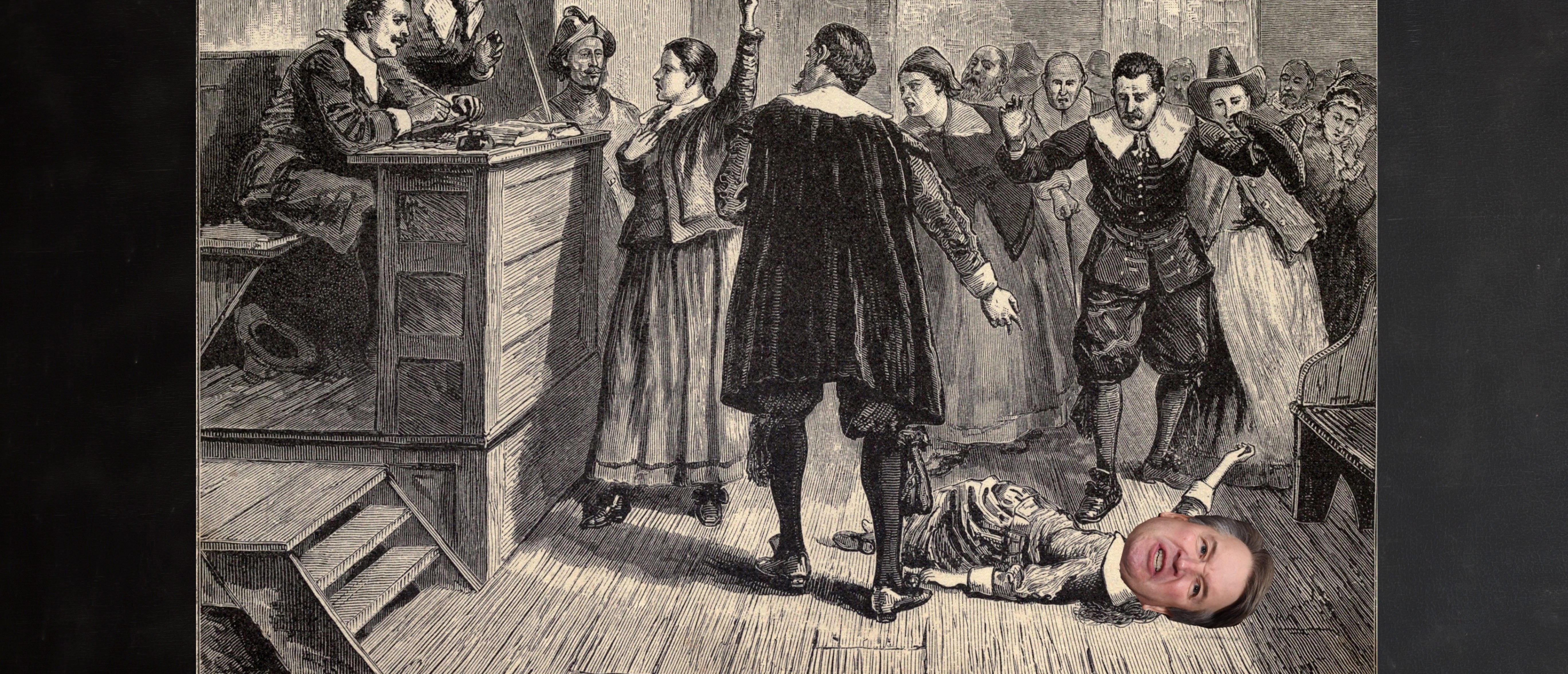 OPINION: Kavanaugh And The Return Of The Salem Witch Trials, Shutterstock and Getty Images